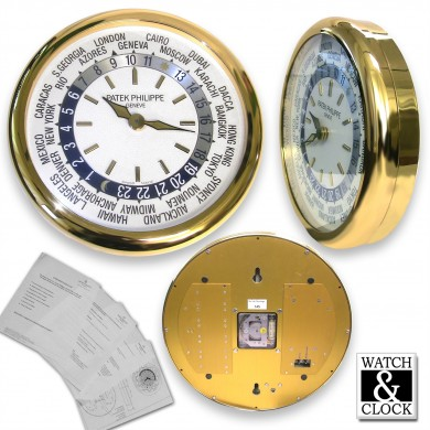 Patek Philippe World Time Wall Clock