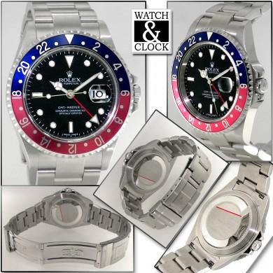 Rolex GMT Master II 16710 senza fori