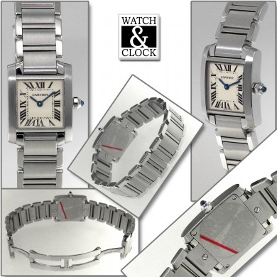 Cartier Tank Francaise Lady 2384