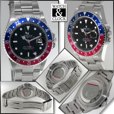 Rolex GMT Master II 16710 without holes