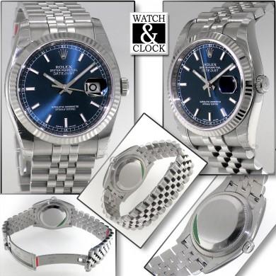 Rolex Datejust 116234 Blu Pellicole