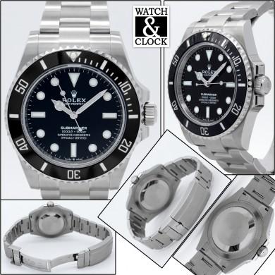 Rolex Submariner 124060 - 41mm.