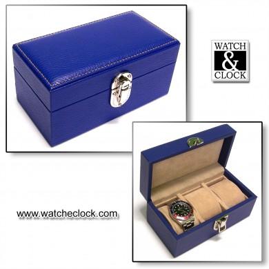Porta Orologi Scatola 3p  Blu