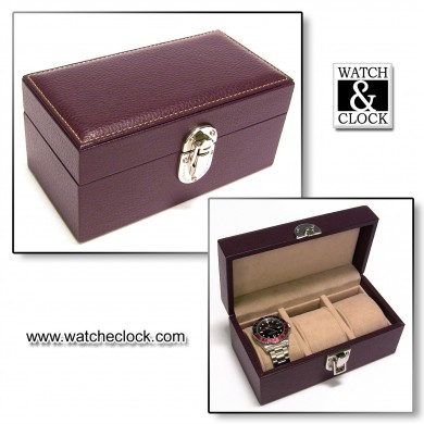 Watch Case - Brown 3p