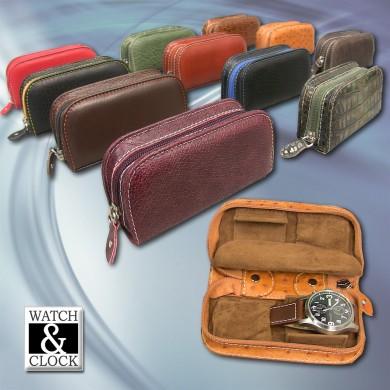 Watch Case - Clutch Bag - 2p.